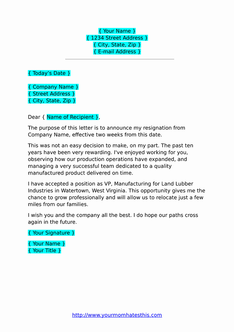 Format for Resignation Letter Luxury Resignation Letters Download Pdf Doc format