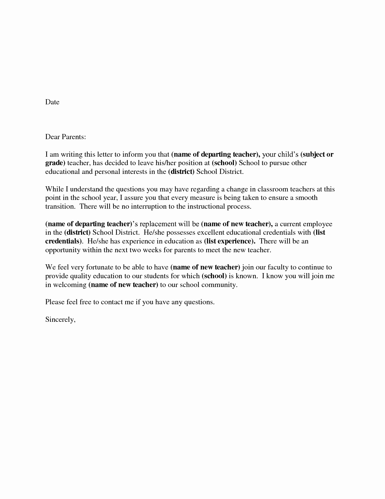 Format for Resignation Letter New Download Resignation Letters Pdf & Doc