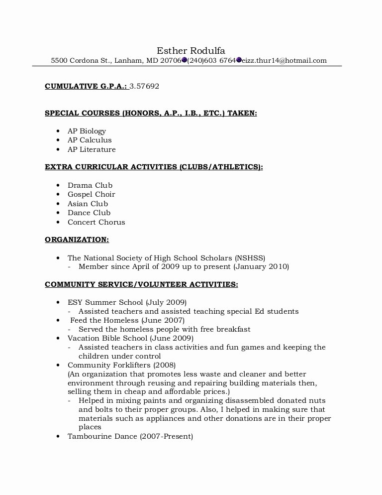 Formats for Letters Of Recommendation Elegant Resume format for Re Mendations