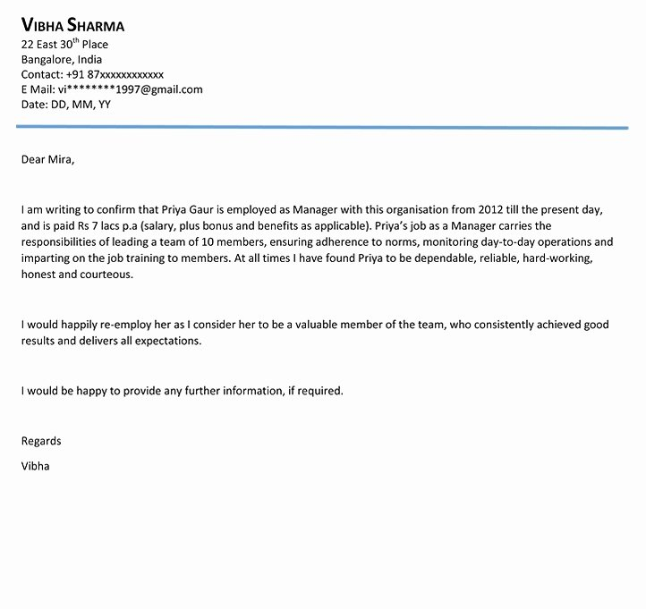 Formats for Letters Of Recommendation Inspirational Reference Letter Outline