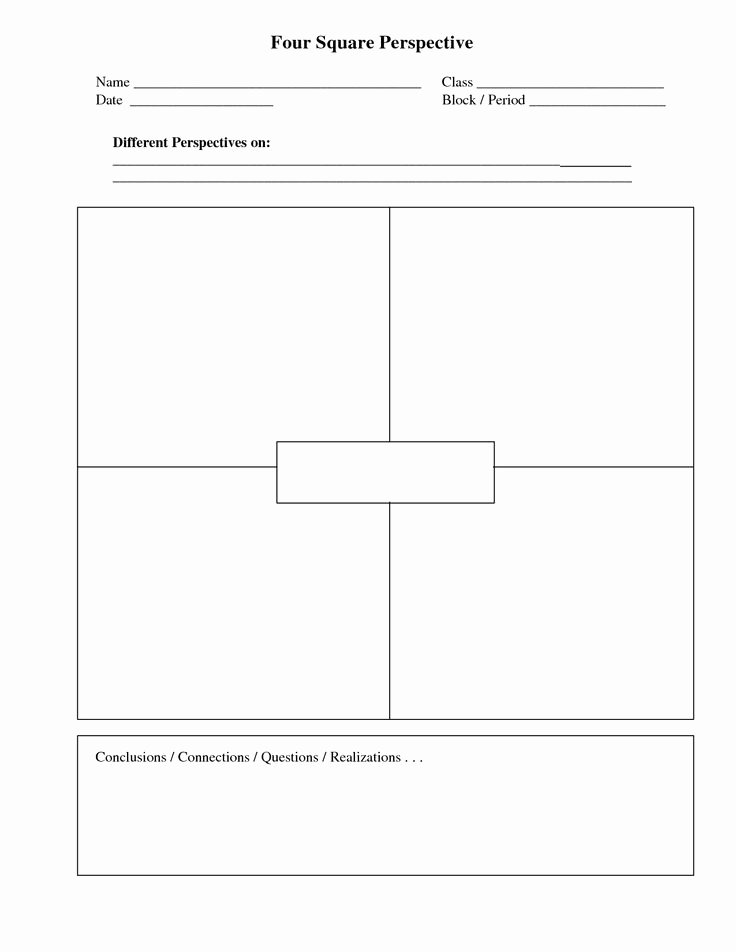 Four Square Writing Template Printable Best Of 25 Best Images About Writing On Pinterest