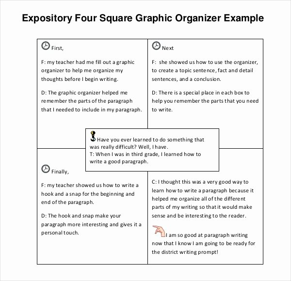 Four Square Writing Template Printable Elegant Four Square Writing Template – 9 Free Word Ppt Pdf