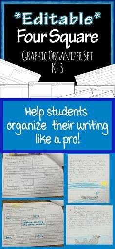 Four Square Writing Template Printable Inspirational 53 Best Four Square Writing Images On Pinterest