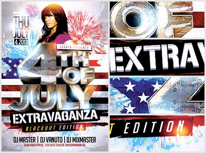 Fourth Of July Flyer Template Elegant 4th July Flyer Template Flyerheroes