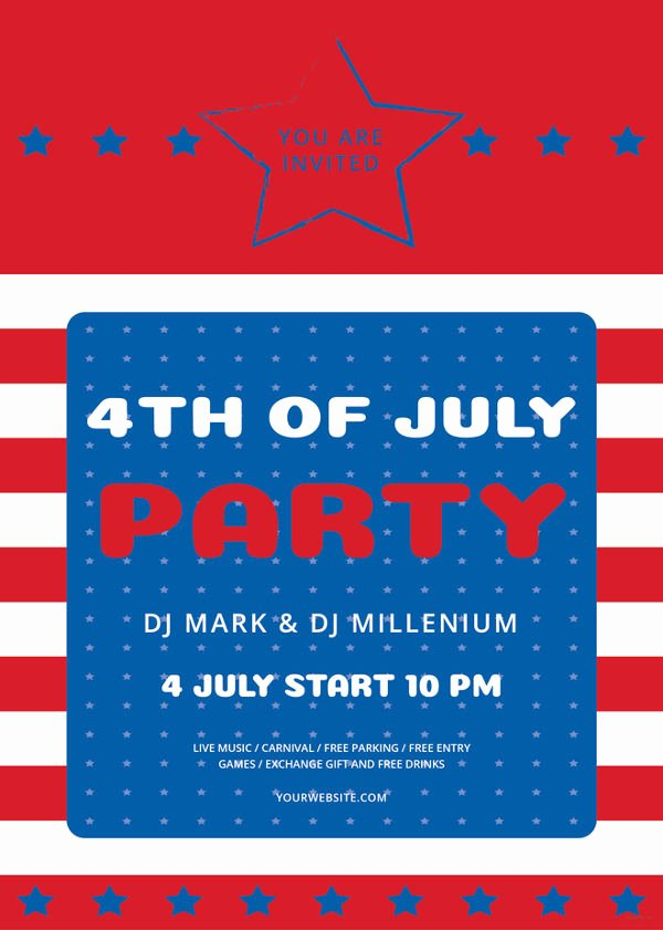 Fourth Of July Flyer Template Fresh 62 Example Of Flyer Templates Psd Ai Vector Eps