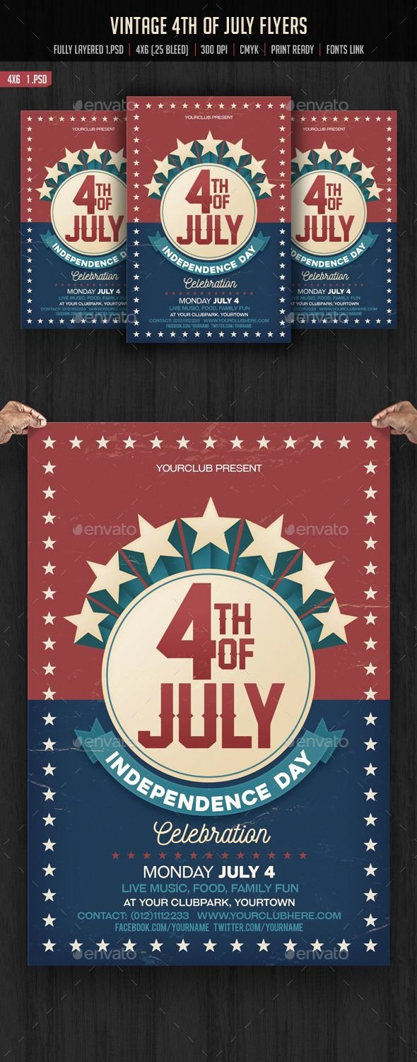 Fourth Of July Flyer Template Inspirational Pin by Best Graphic Design On Flyer Templates