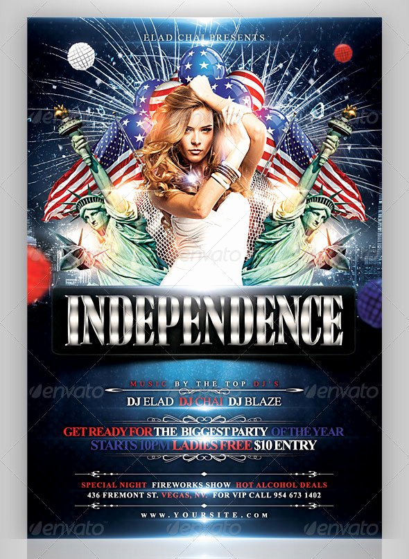 Fourth Of July Flyer Template Luxury 16 Amazing Independence Day Psd Flyer Templates – Bashooka