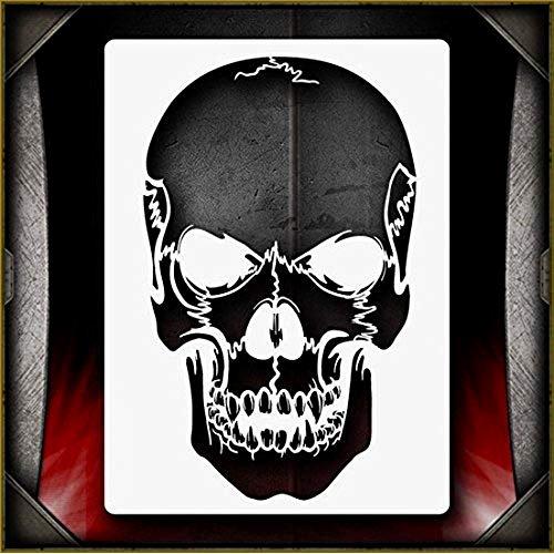 Free Airbrush Stencils Downloads Elegant Skull Airbrush Stencils Amazon