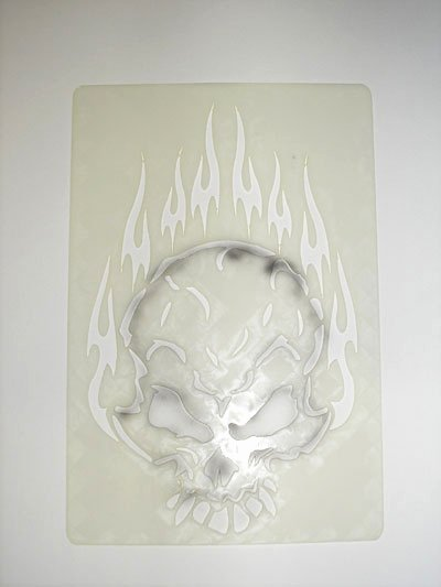 Free Airbrush Stencils Downloads Lovely How to Airbrush Skull Using Simple Skull Stencil