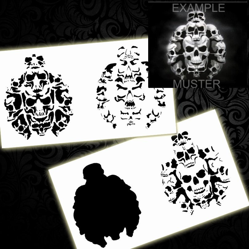 Free Airbrush Stencils Downloads New Colopaint Bps 001 Step by Step Airbrush Templates Stencil