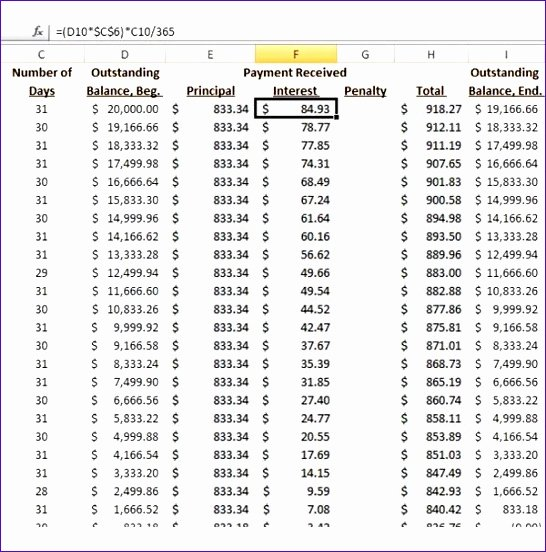 Free Amortization Schedule Template New 8 Loan Amortization Calculator Excel Template