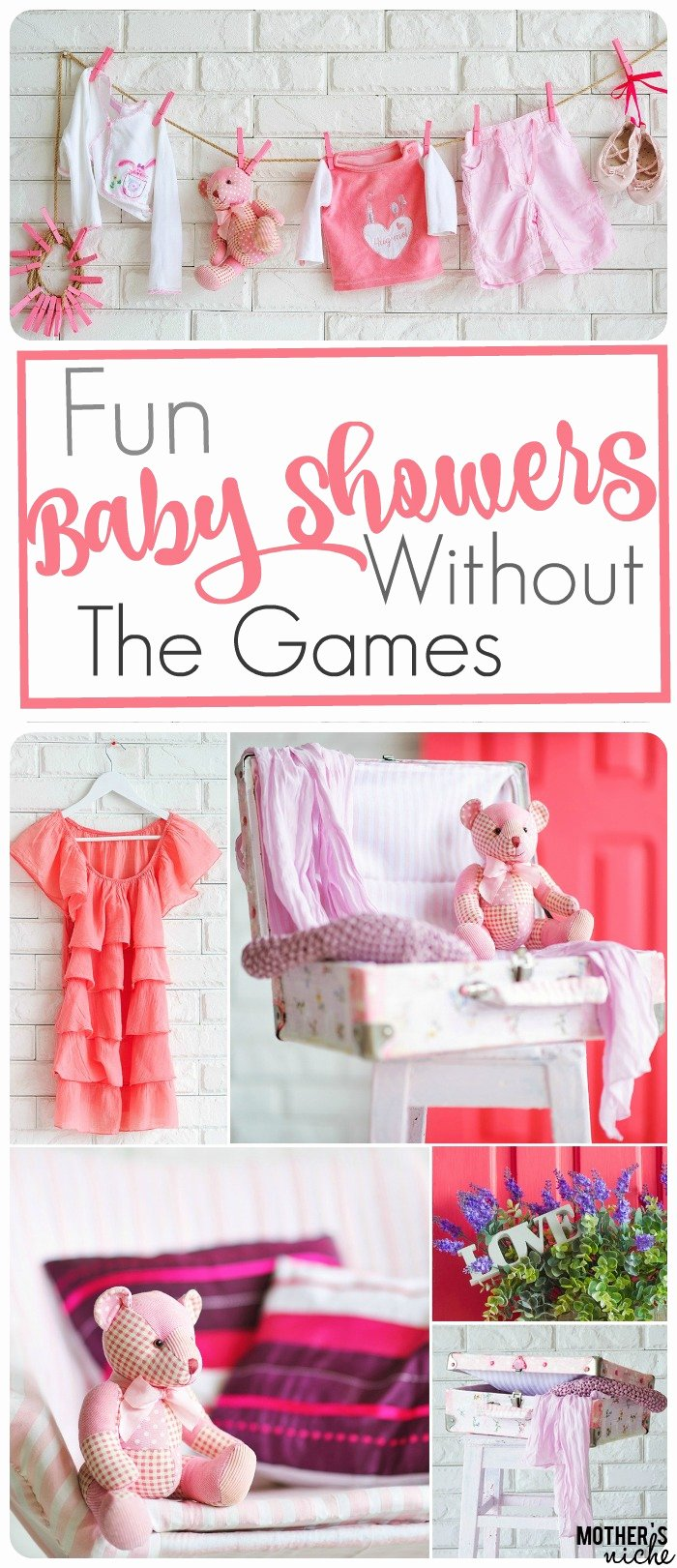 Free Baby Shower Decorations Awesome Non Game Baby Shower Ideas