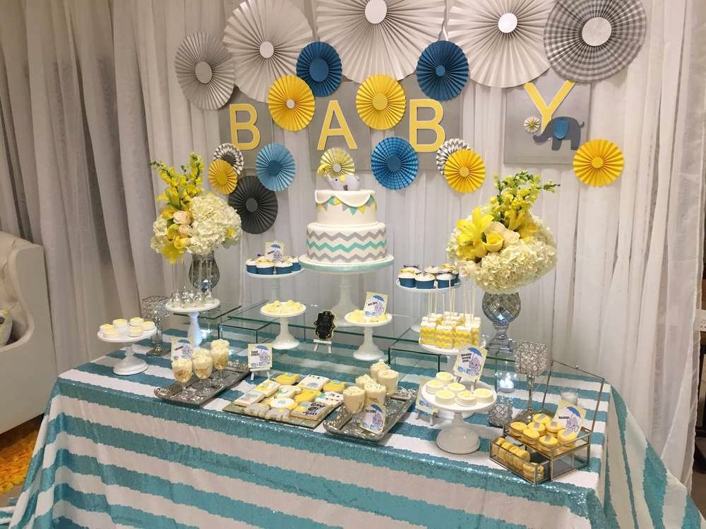 Free Baby Shower Decorations Beautiful Glam Elephant Baby Shower Baby Shower Ideas themes Games