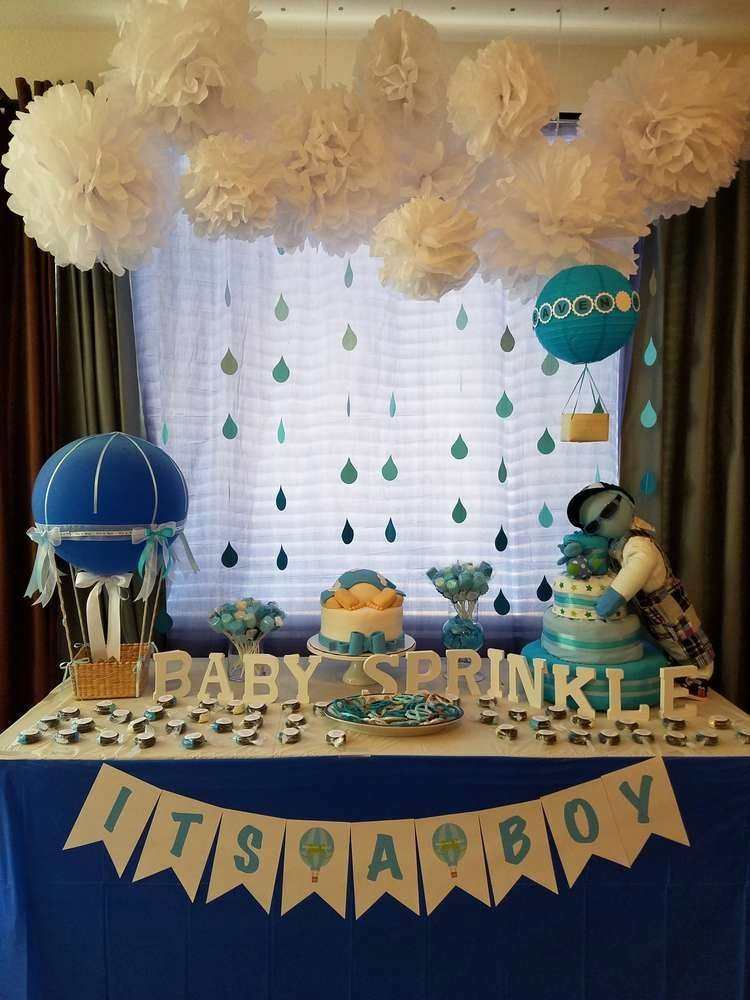 Free Baby Shower Decorations Elegant Heaven Sent Baby Shower Party Ideas