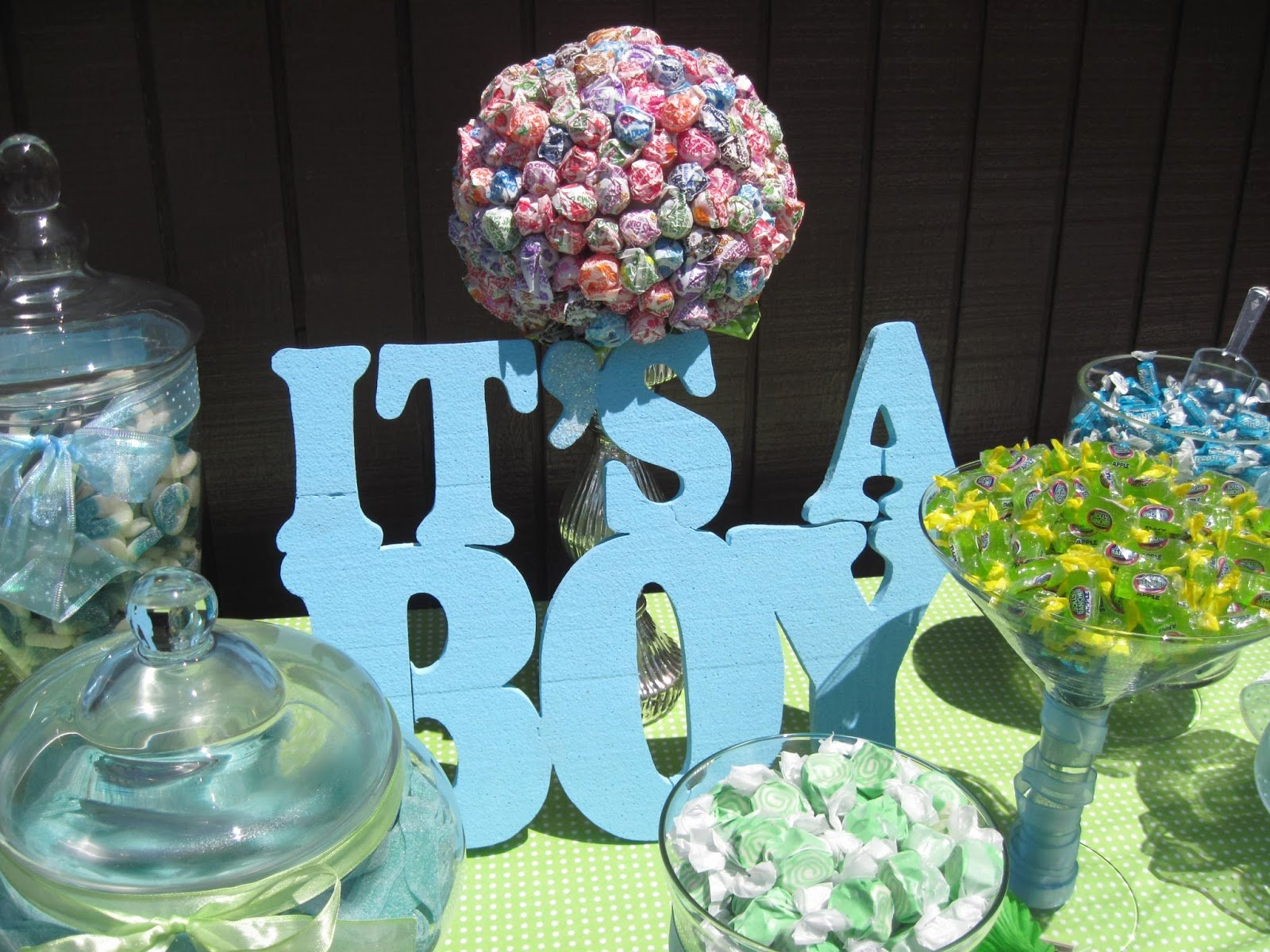 Free Baby Shower Decorations Inspirational Eve4art Diy Baby Boy Candy Bar Buffet