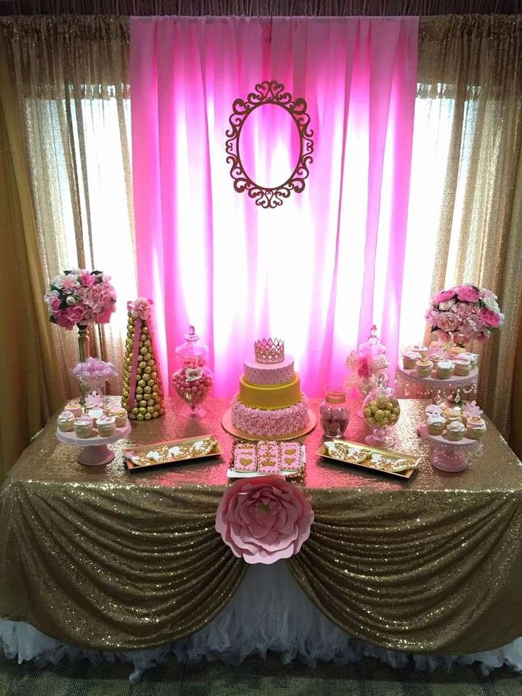 Free Baby Shower Decorations Luxury Little Princess Baby Shower Party Ideas