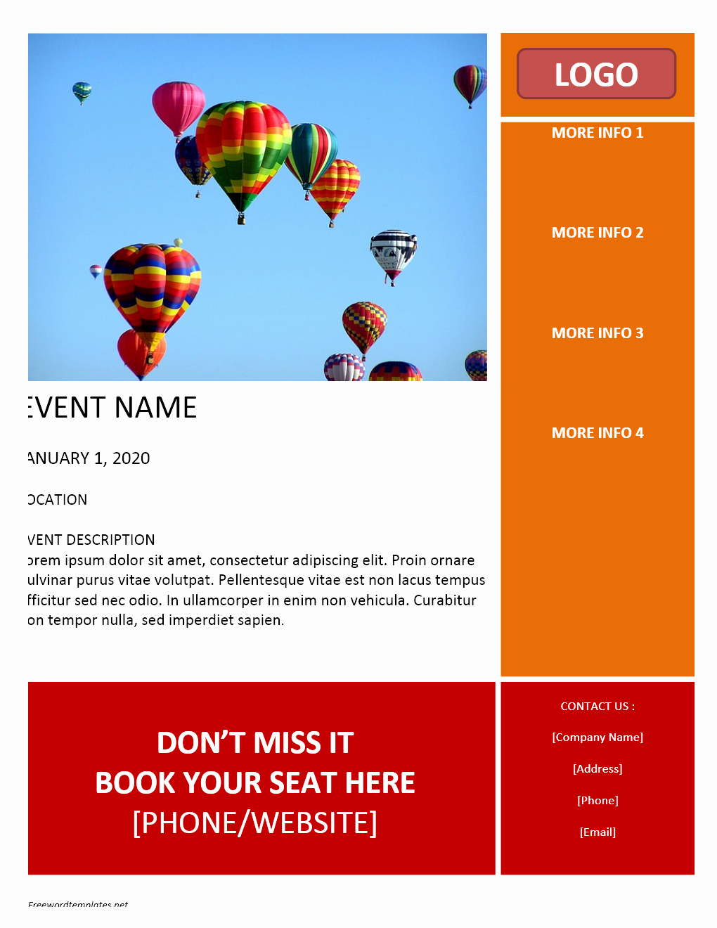 Free Background Templates for Word Fresh Free Flyer Templates Word