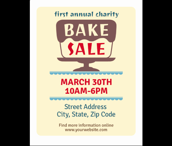 Free Bake Sale Template Beautiful Download This Bake Sale Flyer Template and Other Free