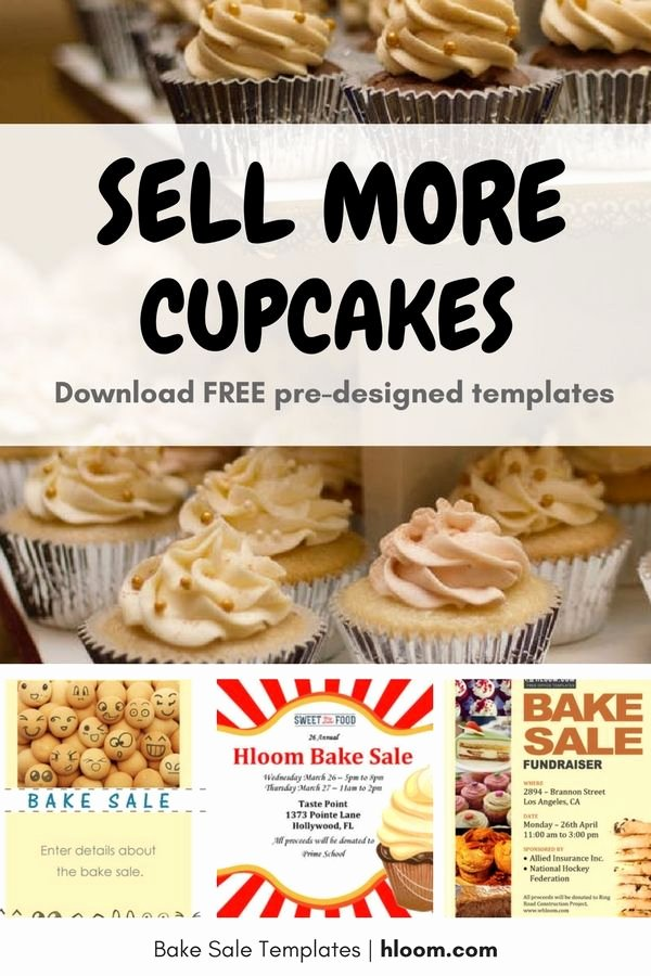 Free Bake Sale Template Fresh 17 Best Images About Bake Sale Flyers On Pinterest