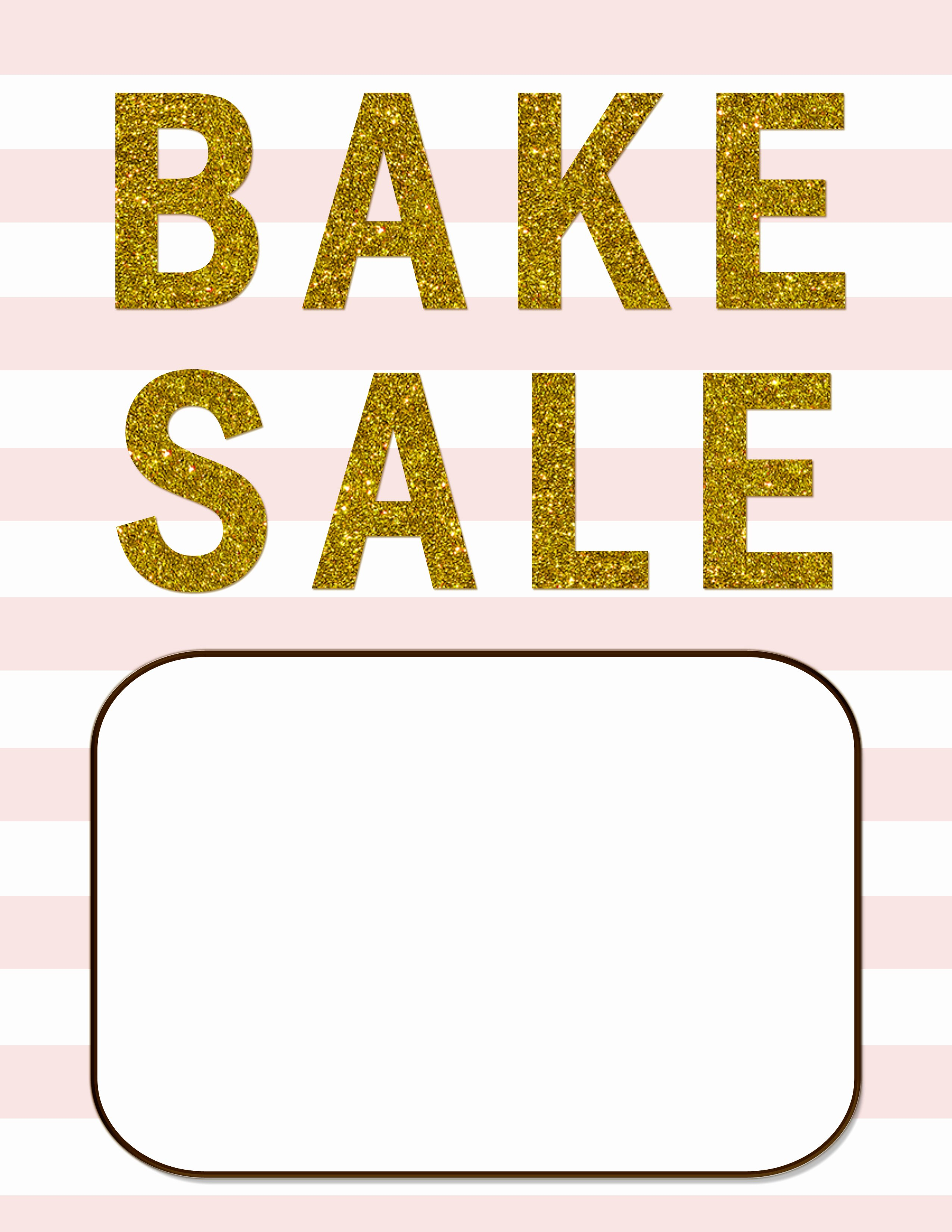 Free Bake Sale Template Inspirational Bake Sale Flyers – Free Flyer Designs