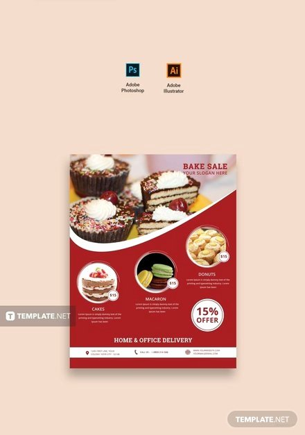 Free Bake Sale Template Luxury Free Printable Bake Sale Flyer Template
