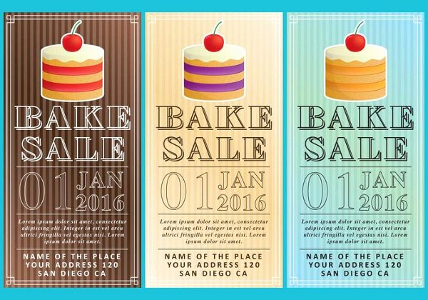 Free Bake Sale Template New 18 Bake Sale Flyer Templates Adobe Shop
