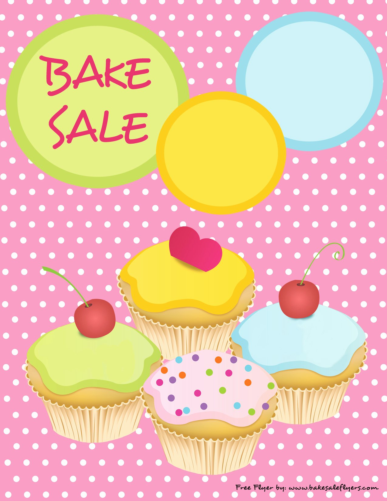 Free Bake Sale Template New Bake Sale Flyers – Free Flyer Designs