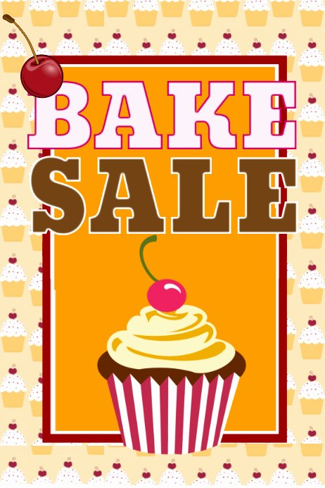 Free Bake Sale Template Unique Bake Sale Template