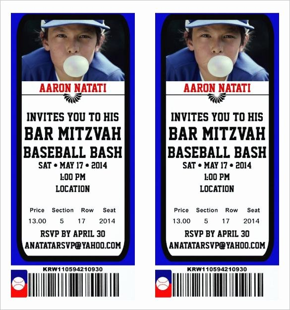 Free Baseball Ticket Template Inspirational 81 Ticket Templates Free Download