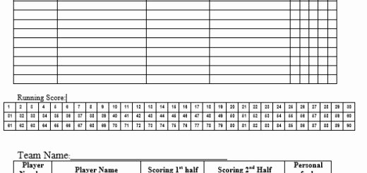 Free Basketball Score Sheets New 8 Free Sample Wrestling Score Sheet Samples Printable