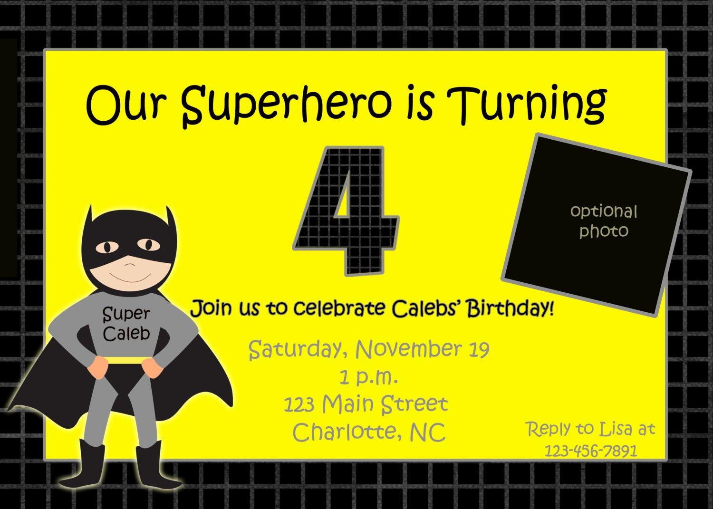 Free Batman Invitation Template Best Of Batman Birthday Invitations Templates Ideas Batman and