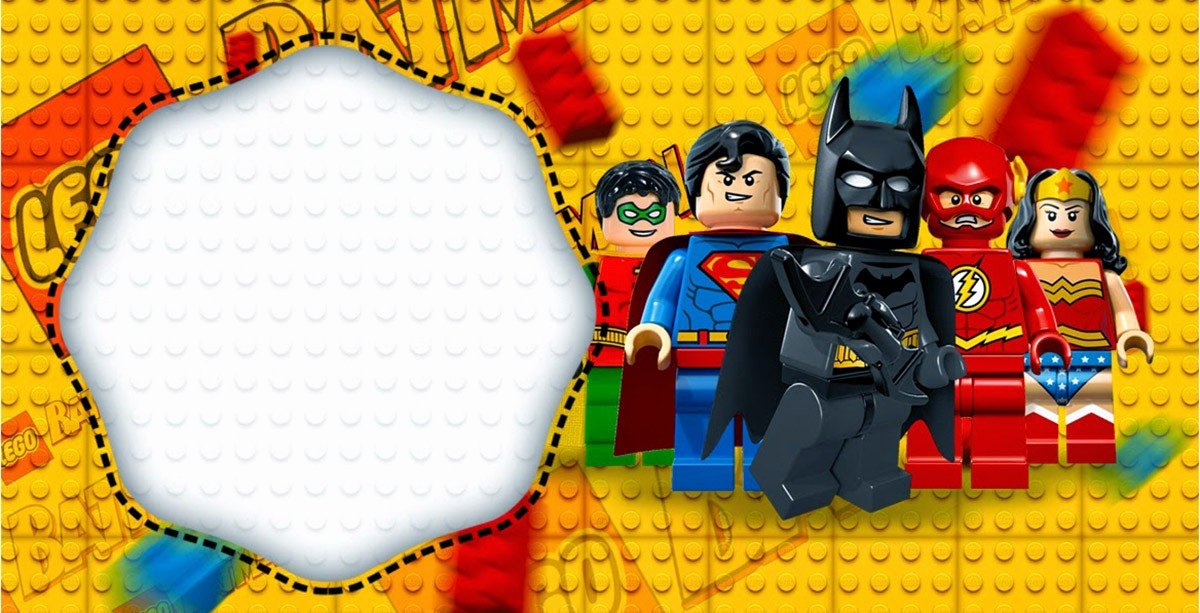 Free Batman Invitation Template Inspirational Free Printable Lego Invitation Templates