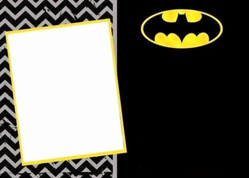 Free Batman Invitation Template Luxury Batman Invitation Project In 2019