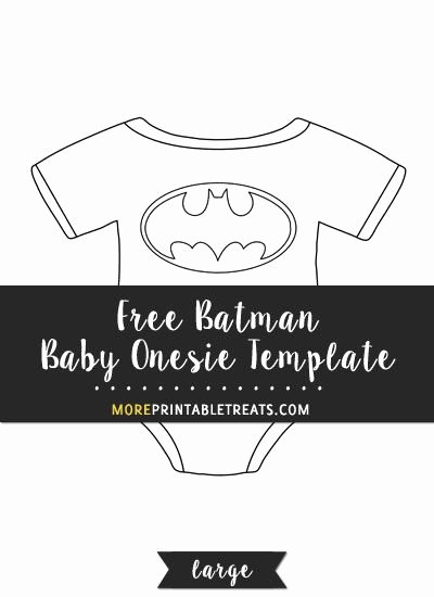 Free Batman Invitation Template New Free Batman Baby Esie Template