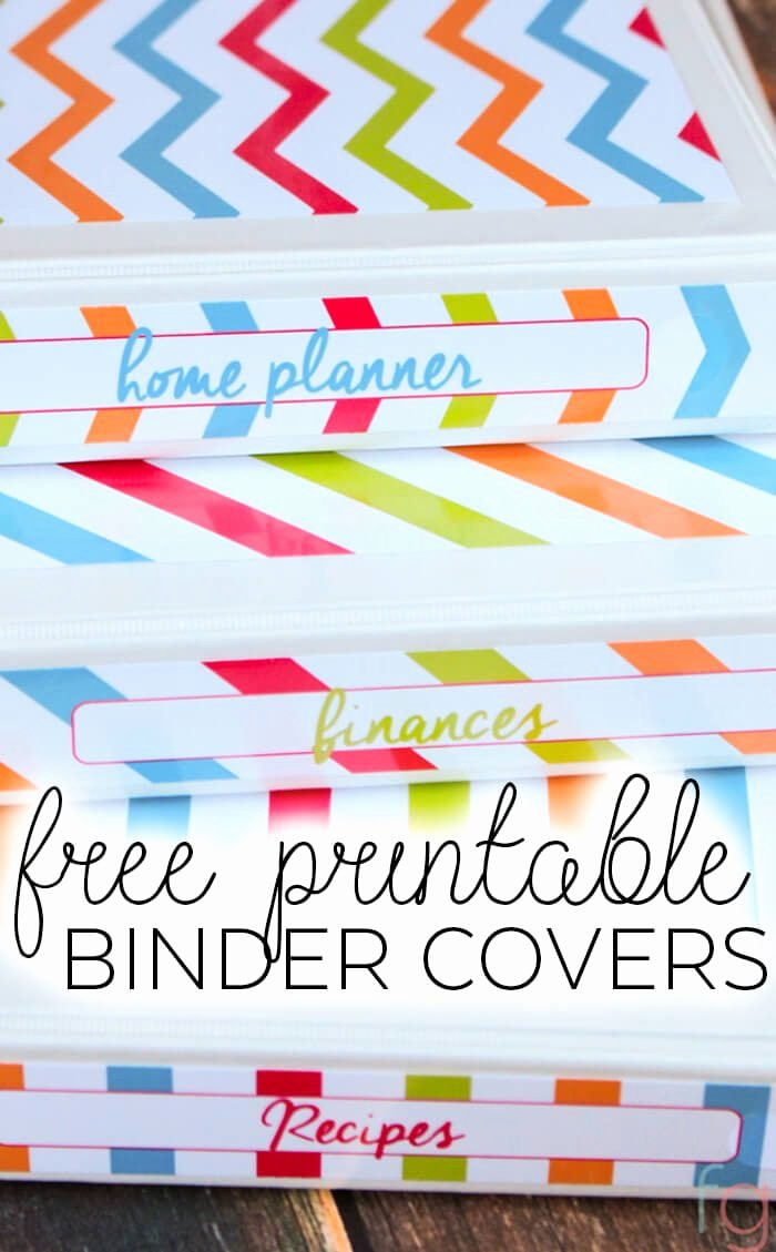 Free Binder Cover Printables Beautiful Free Printable Binder Covers Frugality Gal