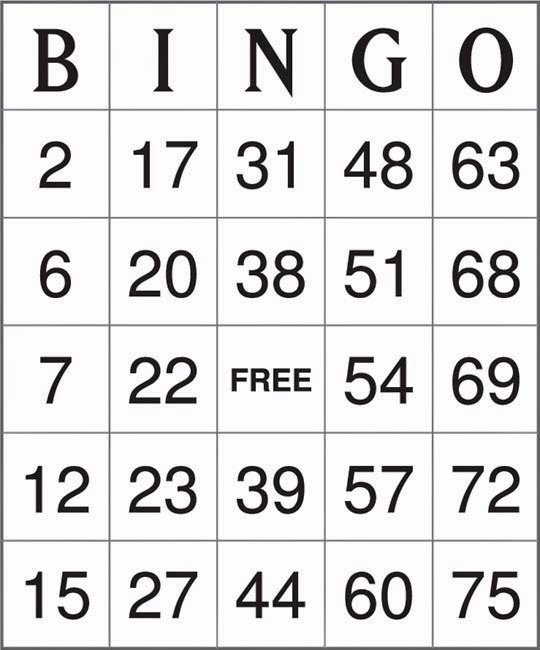 Free Bingo Card Templates Printable Beautiful Factoid Bingo Ii Quiz by Cadillaceldorito