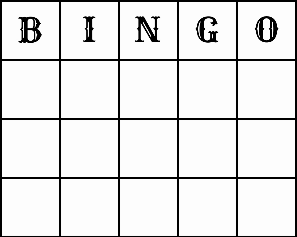 Free Bingo Card Templates Printable Best Of Make Free Wedding Bingo Printout and Epson Xp212