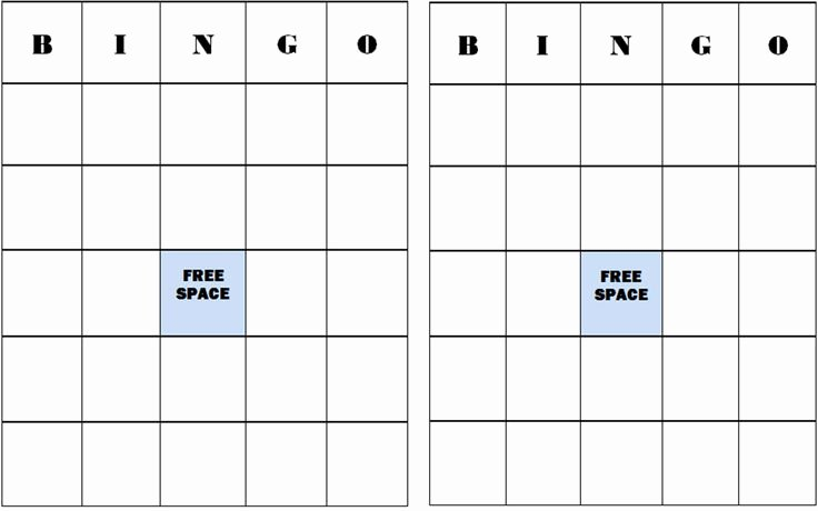 Free Bingo Card Templates Printable Best Of Pumpkin Bingo Cards