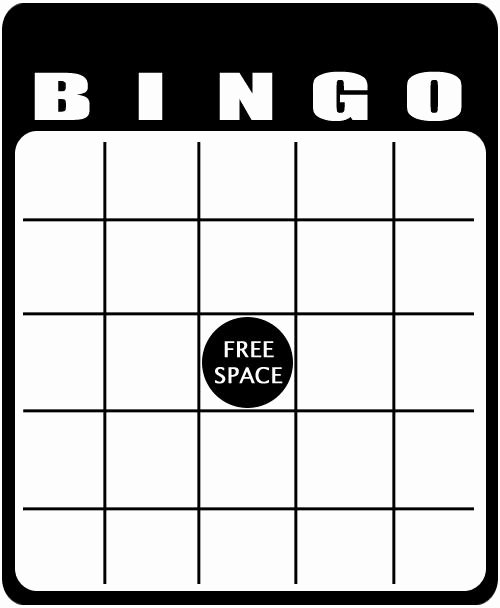 Free Bingo Card Templates Printable Elegant Blank Bingo Templates to Customize