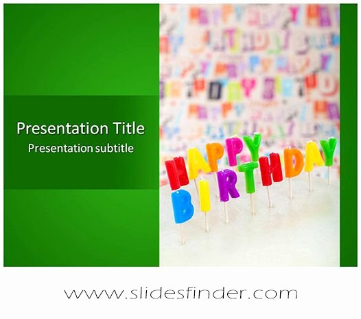 Free Birthday Powerpoint Templates Best Of Create Effective Happy Birthday Ppt Presentation with