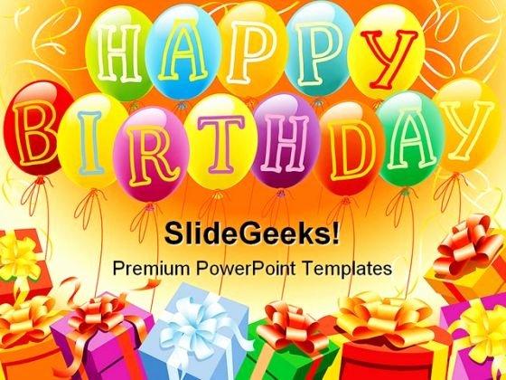 Free Birthday Powerpoint Templates Fresh Powerpoint Birthday