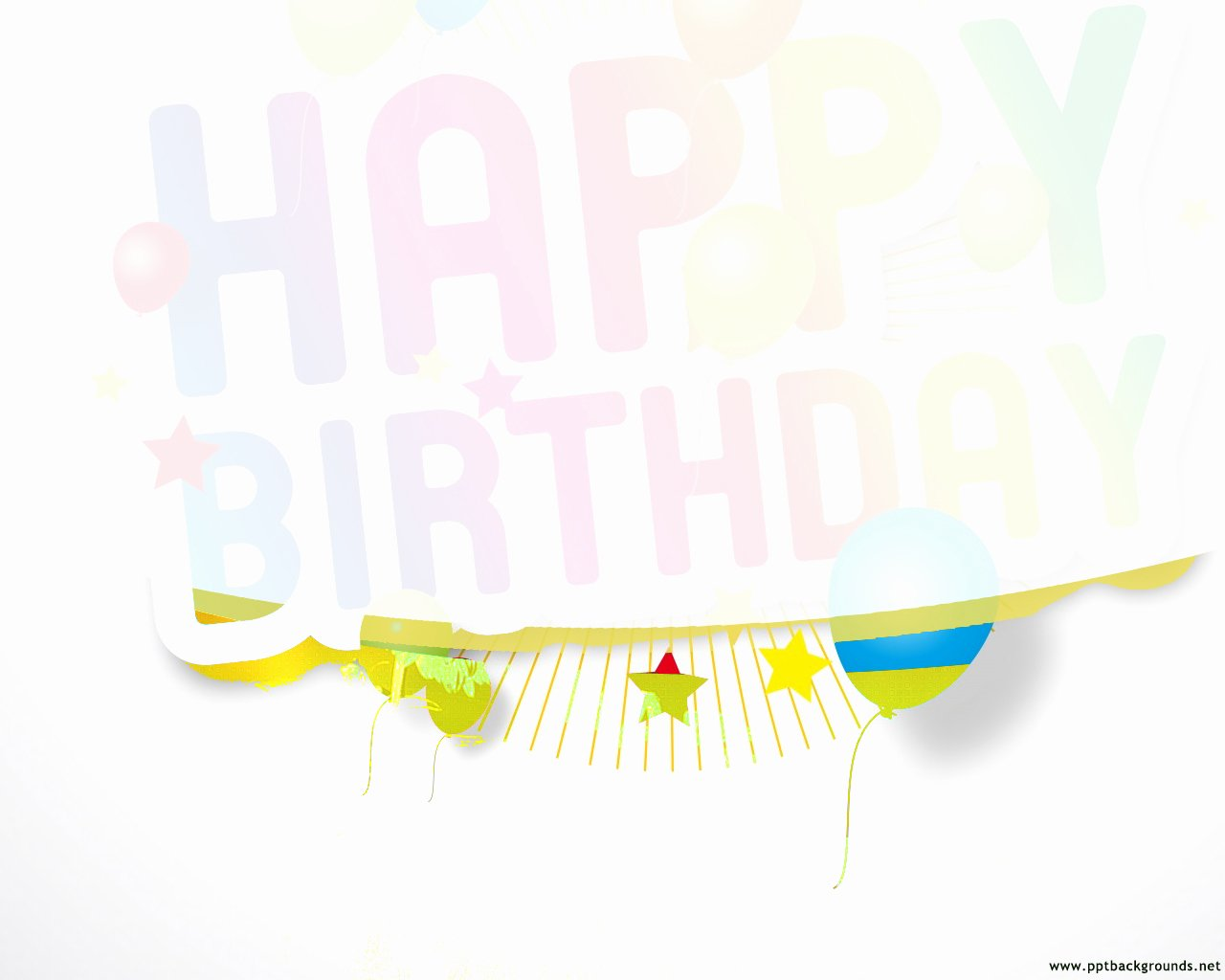Free Birthday Powerpoint Templates Lovely Abstract Happy Birthday Design Backgrounds for Powerpoint