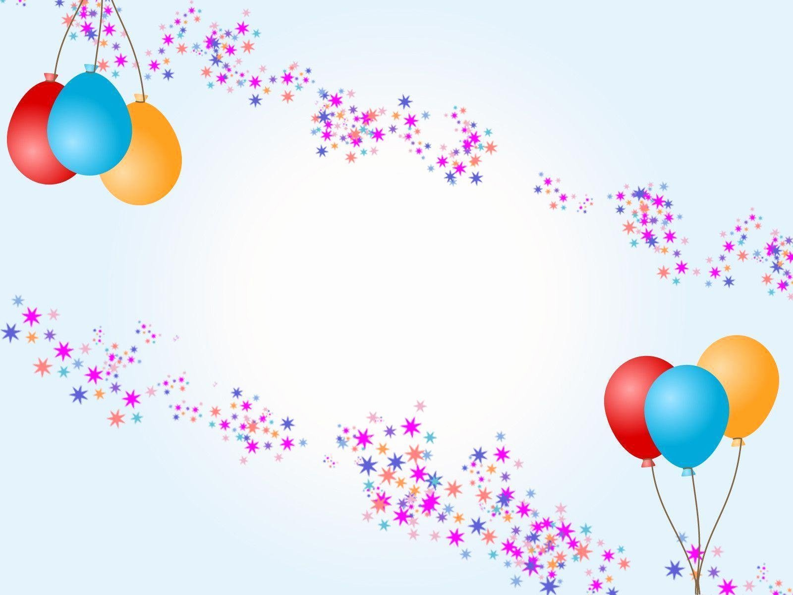 Free Birthday Powerpoint Templates Lovely Birthday Backgrounds Wallpaper Cave