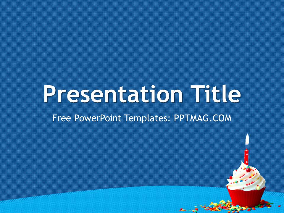 Free Birthday Powerpoint Templates Luxury Free Birthday Powerpoint Template Pptmag