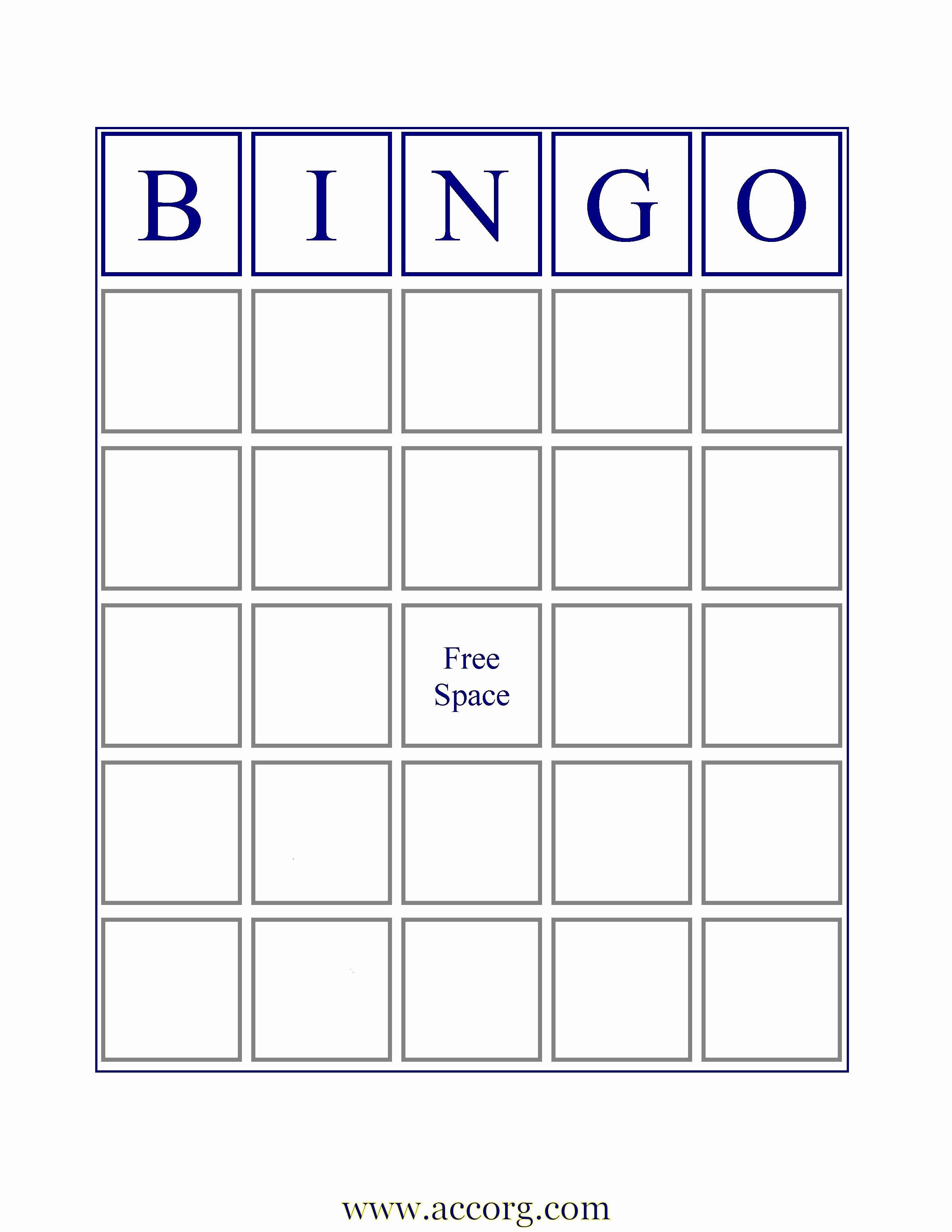 Free Blank Bingo Cards Elegant Blank Bingo Cards