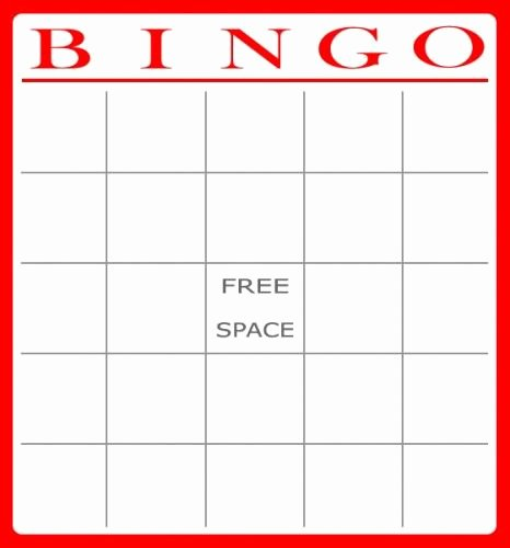 Free Blank Bingo Cards Fresh 15 Best B I N G O Images On Pinterest