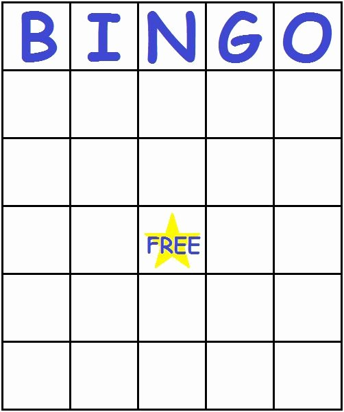 Free Blank Bingo Cards Fresh 17 Best Images About Coloring Pages On Pinterest