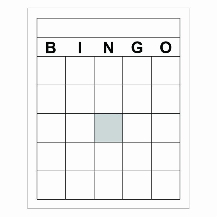 Free Blank Bingo Cards Inspirational 25 Best Ideas About Bingo Cards On Pinterest