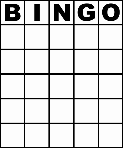 Free Blank Bingo Cards Luxury Blank Bingo Card 75 Number Style Colourless by