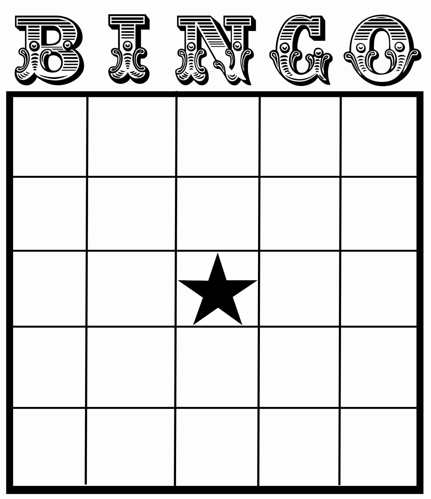 Free Blank Bingo Template Awesome Christine Zani Bingo Card Printables to